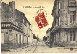 Carte Postale Ancienne De GEMOZAC - - Francia