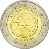 Autriche, 2 Euro, European Monetary Union 10 Th Anniversary, 2009, SPL - Autriche