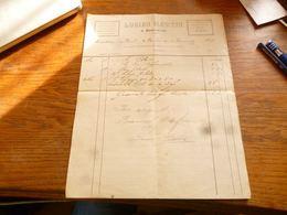 FF5  Document Commercial Facture  Lucien Martin à Beauwelz 1916 Tuyaux En Grès Chaux Hydraulique Briques - Belgium