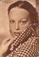 KATHERINE DE MILLE  Paramount  Pubblicitaria G.A.Melloni Tessuti Biancheria Bologna - Actores