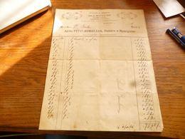 FF5  Document Commercial Facture  Arille Petit-Rombeaux Peintre à Momignies 1912 - Belgium