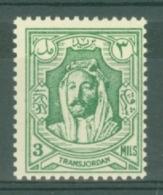 Transjordan: 1942   Emir Abdullah     SG224   3m   [Perf: 13½]    MH - Jordan