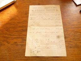 FF5  Document Commercial Facture  Adonis Petit Peintre à Beauwelz 1920 Papiers Peints Couleurs Et Vernis - Belgium