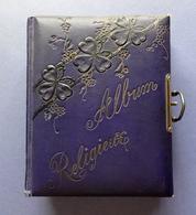ALBUM RELIGIEUX  12 PAGES CARTONNÉES   14 /17 Cm  ÉPAISSEUR  4 Cm   AVEC IMAGES - Imágenes Religiosas
