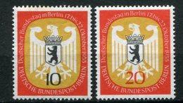 8177  ALLEMAGNE BERLIN  N°114/5*  Session Du Bundestag à Berlin    1955  TB - Neufs