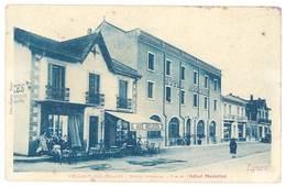 Cpa Valras La Plage - Station Balnéaire - Vue De L'Hôtel Moderne - France