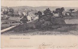 GEMMENICH-ENVIRONS-CACHET-BLEYBERG-MONTZEN-CARTE PRECURSEUR-ENVOYEE-1905-EDITION-C.HOFER-VOYEZ LES  2 SCANS-RARE! - Blieberg