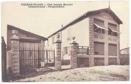 Cpa Valras La Plage - Cité Joseph Hayart, Constructeur, Propriétaire - France