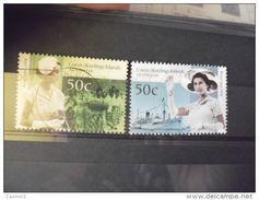 TIMBRE DES ILES COCOS  YVERT N° 397.398 - Cocos (Keeling) Islands