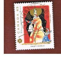 CANADA - SG 1573 - 1993  CHRISTMAS: SANTA CLAUS  -  USED - 1952-.... Regno Di Elizabeth II