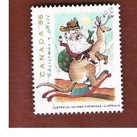 CANADA - SG 1575 - 1993  CHRISTMAS: SANTA CLAUS  -  USED - 1952-.... Regno Di Elizabeth II