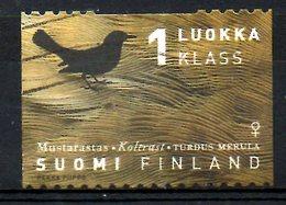 FINLANDE. N°1381 Oblitéré De 1998. Merle. - Songbirds & Tree Dwellers