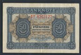 DDR Rosenbg: 339e KN 7stellig, Davor Zwei Buchstaben Gebraucht (III) 1948 50 Deutsche Pfennig (9223279 - [ 6] 1949-1990: DDR - Duitse Dem. Rep.