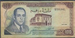 Marokko Pick-Nr: 59a Gebraucht (III) 1970 100 Dirhams (9227879 - Marokko