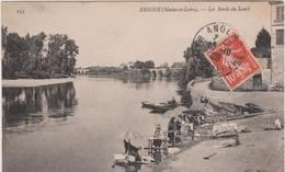 Maine  Et Loire :  ERIGNE : Les  Bords  Du  Louet  , Lavoir , Laveuses - Other Municipalities