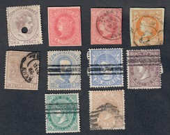 Spagna Spain Espana 10 Francobolli Cod.FRA.1134 - 1868-70 Provisional Government