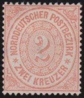 Nord     .    Michel    20    .   (*)      .    Kein Gummi   .   /   .   No Gum - Norddeutscher Postbezirk