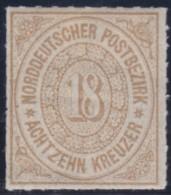 Nord       .    Michel  .   11       .     *   .    Ungebraucht   Mit Gummi Und Falz  .  /  .  Mint-hinged - Norddeutscher Postbezirk