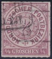 Nord       .    Michel  .   1     .     O      .    Gebraucht  .   /  .   Cancelled - Norddeutscher Postbezirk