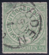 Nord       .    Michel  .   2   .     O      .    Gebraucht  .   /  .   Cancelled - Norddeutscher Postbezirk
