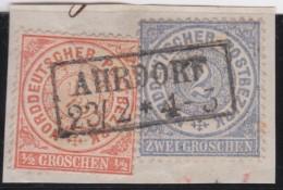 Nord       .    Michel      .   3  + 5      .         O      .    Gebraucht  .   /  .   Cancelled - Norddeutscher Postbezirk