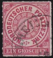 Nord       .    Michel      .   4      .         O      .    Gebraucht  .   /  .   Cancelled - Norddeutscher Postbezirk