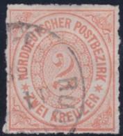 Nord       .    Michel      .     8      .         O      .    Gebraucht  .   /  .   Cancelled - Norddeutscher Postbezirk