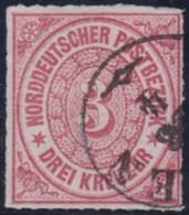 Nord       .    Michel      .     9      .         O      .    Gebraucht  .   /  .   Cancelled - Norddeutscher Postbezirk