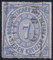 Nord       .    Michel      .     10       .         O      .    Gebraucht  .   /  .   Cancelled - Norddeutscher Postbezirk