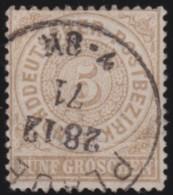 Nord       .    Michel      .     18      .         O      .    Gebraucht  .   /  .   Cancelled - Norddeutscher Postbezirk
