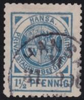 Nord       .    Michel      .    Marke     .         O      .    Gebraucht  .   /  .   Cancelled - Norddeutscher Postbezirk