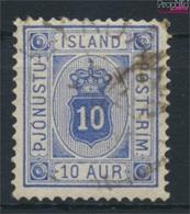 Island D5A B Gestempelt 1876 Ziffer Mit Krone (9223503 - Prephilately