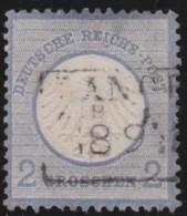 Deutsches Reich     .    Michel      .    5     .         O      .    Gebraucht  .   /  .   Cancelled - Deutschland