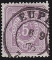 Deutsches Reich     .    Michel      .     32       .         O      .    Gebraucht  .   /  .   Cancelled - Germania