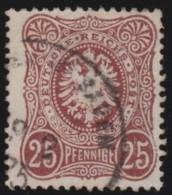 Deutsches Reich     .    Michel      .     35      .         O      .    Gebraucht  .   /  .   Cancelled - Deutschland