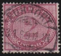 Deutsches Reich     .    Michel      .     37         .         O      .    Gebraucht  .   /  .   Cancelled - Germania