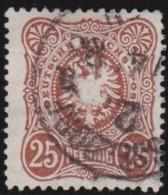 Deutsches Reich     .    Michel      .     43      .         O      .    Gebraucht  .   /  .   Cancelled - Deutschland