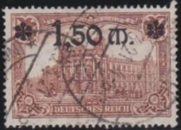 Deutsches Reich     .    Michel      .     117       .         O      .    Gebraucht  .   /  .   Cancelled - Allemagne