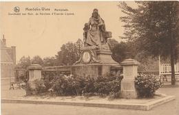 MOERBEKE WAAS Marktplaats Standbeeld Mevr.de Kerchove - Moerbeke-Waas