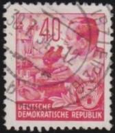 DDR    .    Michel      .     375         .          O      .        Gebraucht  .   /  .   Cancelled - [6] Democratic Republic