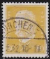 Deutsches  Reich       .    Michel      .     422      .      O      .        Gebraucht  .   /  .   Cancelled - Germania