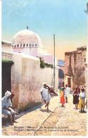 POSTAL   TANGER  -MARRUECOS  - UN SANTUARIO EN LA ALCAZABA  (UN MARABOUT DE LA CASBAH) - Tanger