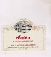 ETIQUETTE VIN  , ANJOU - Red Wines