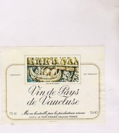 ETIQUETTE VIN  , PAYS DE VAUCLUSE - Red Wines