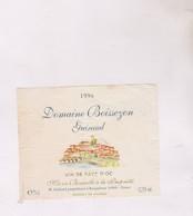 ETIQUETTE VIN  , DOMAINE BOISSEZON, GUIRAUD 1996! - Vin De Pays D'Oc