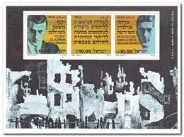 Israël 1983, Postfris MNH, Jewish Resistance To The Holocaust - Blokken & Velletjes