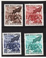 NEU1110 JUGOSLAWIEN 1952 Michl 708/11 ** Postfrisch SIEHE ABBILDUNG - 1945-1992 Sozialistische Föderative Republik Jugoslawien