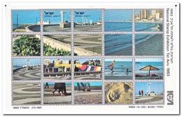 Israël 1983, Postfris MNH, Stamp Exhibition TEL AVIV '83 - Blokken & Velletjes