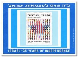 Israël 1983, Postfris MNH, 35 Years Of Independence - Blokken & Velletjes