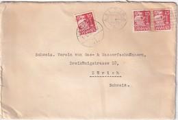 DANEMARK 1939 LETTRE DE AALBORG - 1913-47 (Christian X)